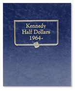 Whitman Album #9127 - Kennedy Half Dollars 1964-2002