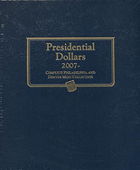 Whitman Album #2227 - Presidential Dollars 2007-Date P&D