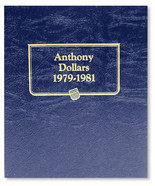 Whitman Album #9149 - Susan B Anthony Dollars 1979-1981