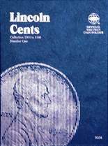 Whitman Folder- Lincoln Cents #1 1909-1940