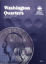 Whitman Folder- Washington Quarters #1- 1932-1947