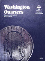 Whitman Folder- Washington Quarters #4- 1988-2000