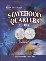 Whitman Folder- Statehood Quarters- 1999-2009