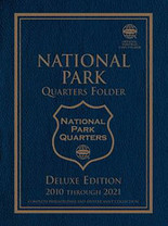 Whitman Folder - National Park Quarters 2010-2021 P&D-Deluxe Edition