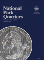 Whitman Folder-National Park Quarters P&D #1- 2010-2015