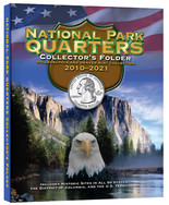 Whitman Folder-National Parks Quarters 2010-2021 P&D Mints
