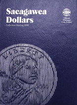 Whitman Folder- Sacagawea Dollars - Collection Starting 2000