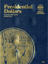 Whitman Folder - Presidential Dollars 2007-2011 Vol.1