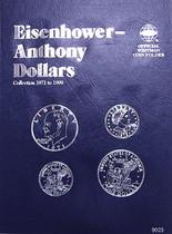 Whitman Folder- Eisenhower/Anthony Dollars - 1971-1999