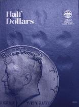 Whitman Folder- Half Dollars - Plain