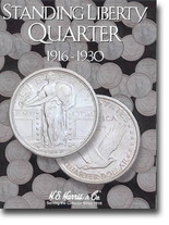 H.E. Harris Folder: Standing Liberty Quarters 1916-1930