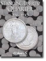 H.E. Harris Folder: Standing Liberty Quarters 1916-1930