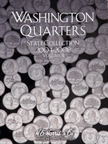 H.E. Harris Folder: State Quarters 2004-2008 P&D Vol.2