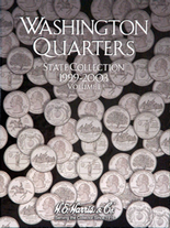 H.E. Harris Folder: State Quarters 1999-2003 P&D Vol.1