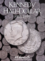 H.E. Harris Folder: Kennedy Half Dollars #2 1985-1999