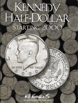 H.E. Harris Folder: Kennedy Half Dollars #3 2000-Date