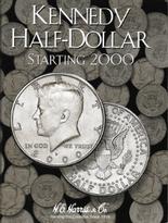 H.E. Harris Folder: Kennedy Half Dollars #3 2000-Date