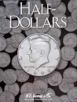 H.E. Harris Folder: Half Dollars- Plain
