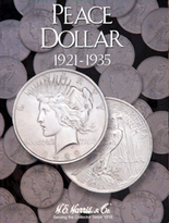 H.E. Harris Folder: Peace Dollars 1921-1935