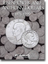 H.E. Harris Folder: Eisenhower/Susan B. Anthony Dollars