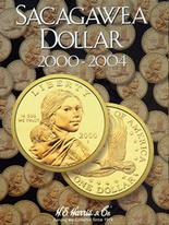 H.E. Harris Folder: Sacagawea Dollars 2000-2004