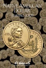 H.E. Harris Folder: Native American Dollars 2009-Date