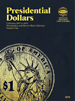Whitman Folder: P&D - Presidential Dollars 2007-2011 Vol.1