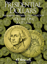 H.E. Harris Folder: Presidential Dollars 2007-2011 P&D Vol.1