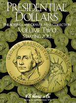 H.E. Harris Folder: Presidential Dollars 2012-2016 P&D Vol.2