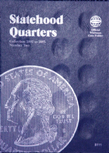 Whitman Folder- Statehood Quarters #2- 2002-2005 P&D