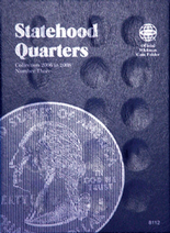 Whitman Folder- Statehood Quarters #3- 2006-2009 P&D
