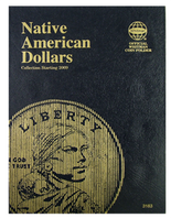 Whitman Folder- Native American Dollars - Starting 2009 P&D