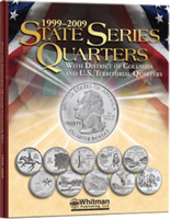Whitman Folder- State Series Quarters with Territories-1999-2009-Foam