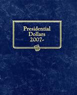 Whitman Album #2183 - Presidential Dollars 2007- Date -Single Mint