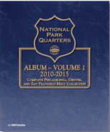Whitman Album #3058- National Park Quarters Vol.1 2010-2015 P,D&S