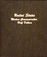 Dansco Album #7063 - U.S. Modern Commemorative Half Dollars