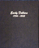 Dansco Album #6170 - Early Dollars 1794 - 1803