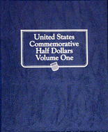 Whitman Album #9159 - U.S. Commemorative Half Dollars Vol.1