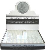 HE Harris Polypropylene Round Tubes for Sacagawea Dollars - Pack of 100