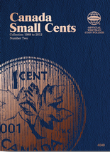 Whitman Folder - Canadian Small Cents 1989 - 2012 Vol.2