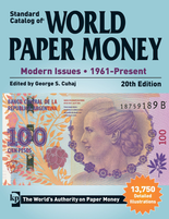 Standard Catalog of World Paper Money - Modern Issues -1961-Present, 20nd Edition