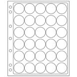 30 Slots ENCAP Pages for 30/31mm Round Coin Holders - Pack of 2