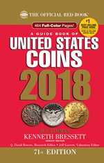 2018 Red Book Price Guide of United States Coins-Hidden Spiral