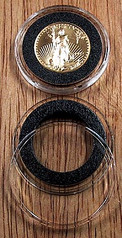 AirTite Ring Fit 22mm Model T - 1/4 oz Gold Eagle