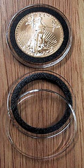 AirTite Ring Fit 32mm Model H  - 1 oz Gold Eagle