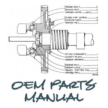 caterpillar parts for model bl jen s manuals