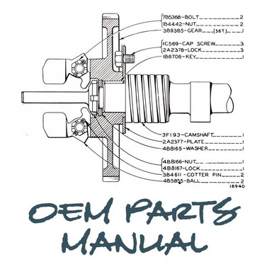 ditch witch parts manual for model 2200 jensales manuals