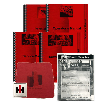 international 584 tractor workshop manual
