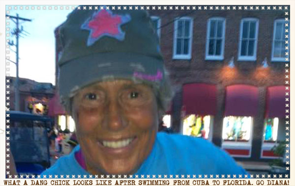 Diana Nyad-Record Breaking Chick!
