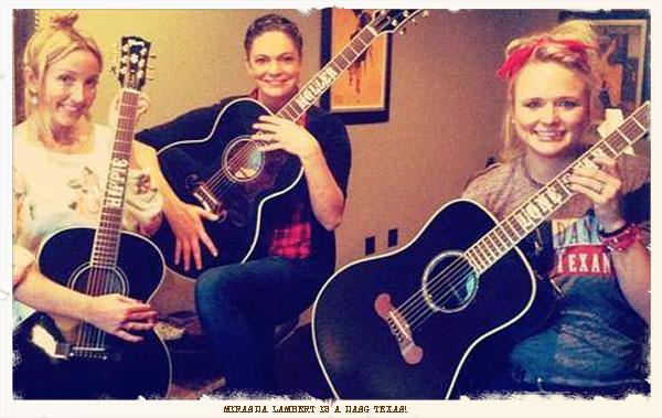 Miranda Lambert Rockin Her Dang Texan Tee by Dang Chicks